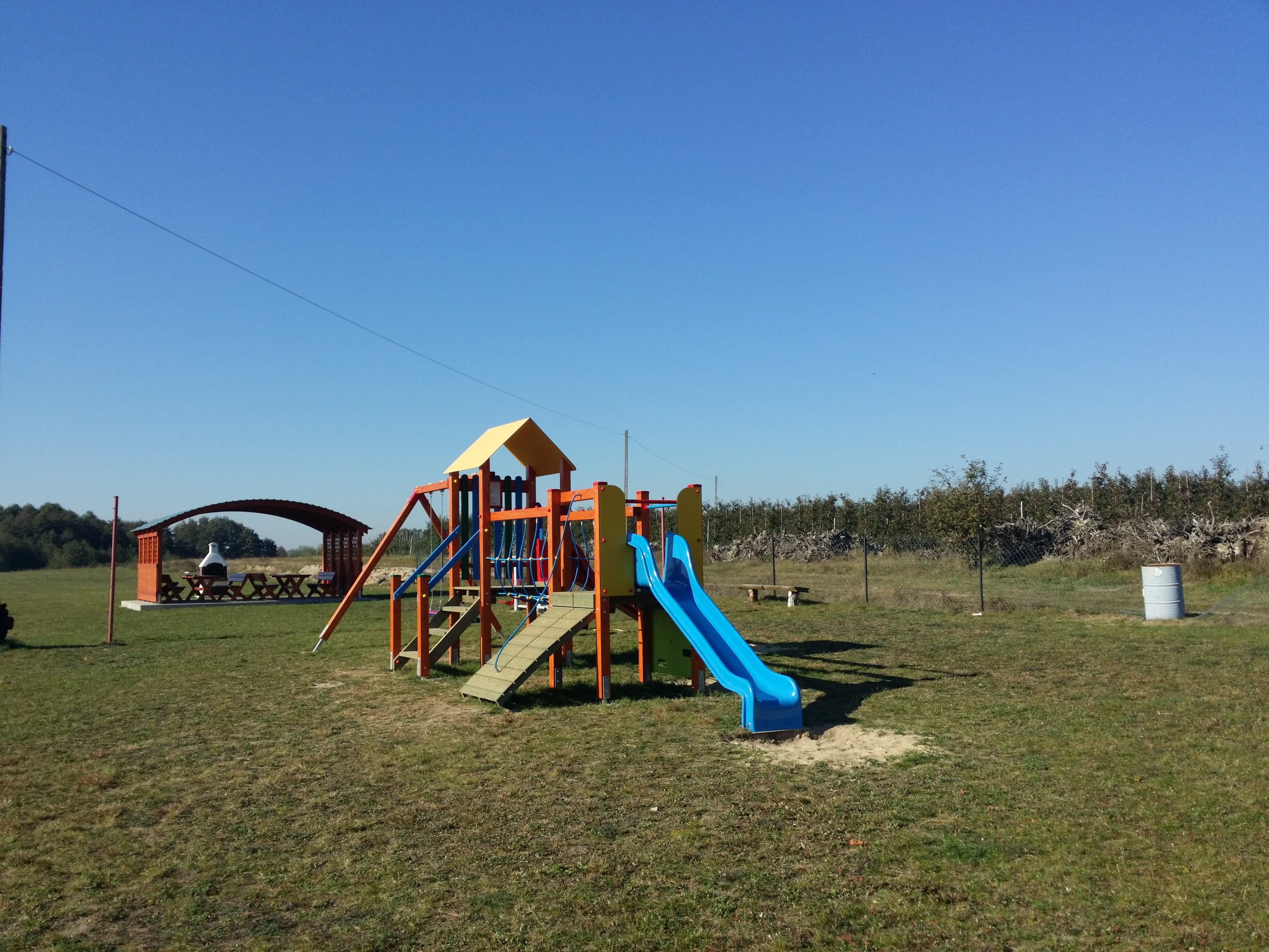 Miejsce rekreacji w Trębaczewie