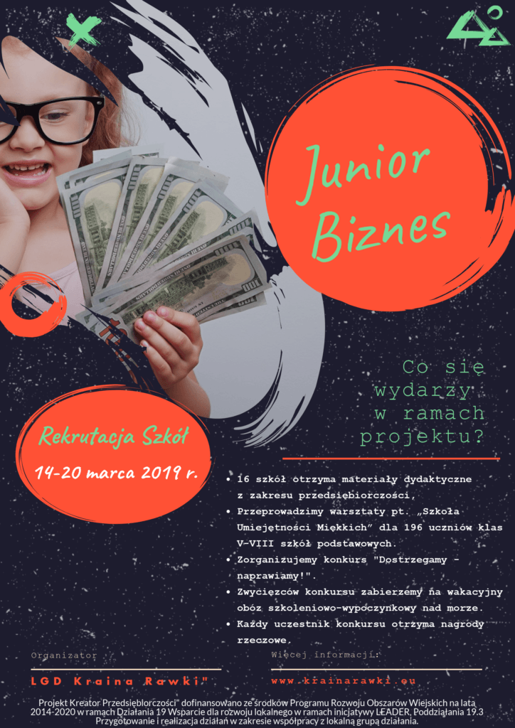 Plakat Junior Biznes